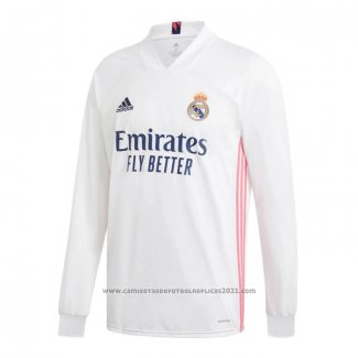 Camiseta Real Madrid 1ª Equipacion Manga Larga 2020-2021