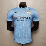 Camiseta Manchester City Authentic 1ª Equipacion 2020-2021