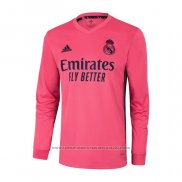 Camiseta Real Madrid 2ª Equipacion Manga Larga 2020-2021