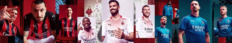 camisetas del AC Milan 20-21