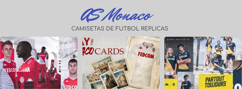 camiseta del AS Monaco 20-21
