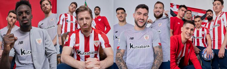 camisetas del Athletic Bilbao 20-21