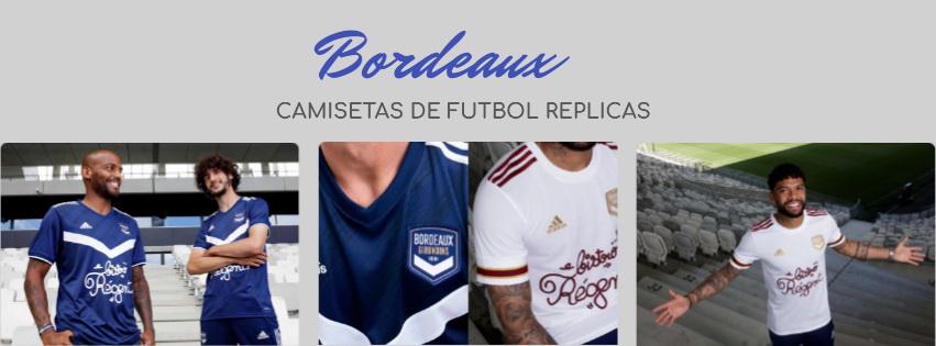 camiseta del Bordeaux 20-21