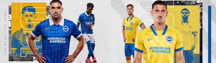 camisetas del Brighton & Hove Albion 20-21