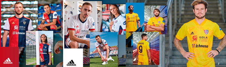 camisetas del Cagliari Calcio 20-21