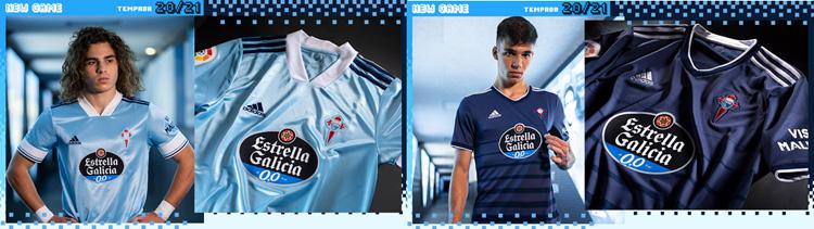 camisetas del Celta de Vigo 20-21