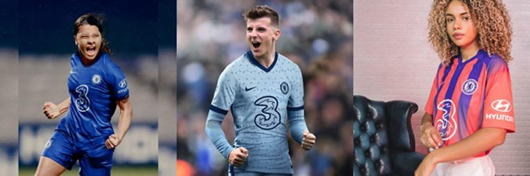 camisetas del Chelsea 20-21