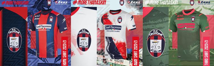 camisetas del Crotone 20-21