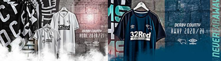 camisetas del Derby County 20-21
