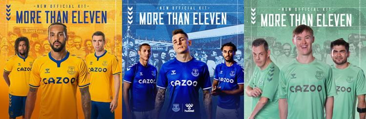 camisetas del Everton 20-21