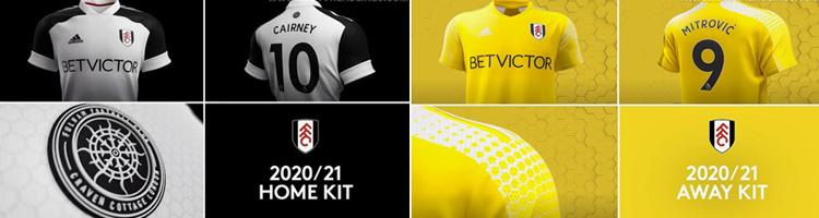 camisetas del Fulham 20-21
