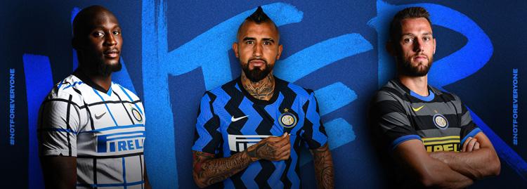 camisetas del Inter Milan 20-21