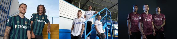 camisetas del Leeds United 20-21