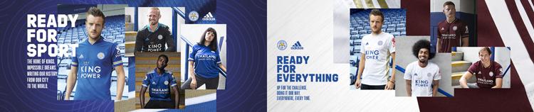 camisetas del Leicester City 20-21
