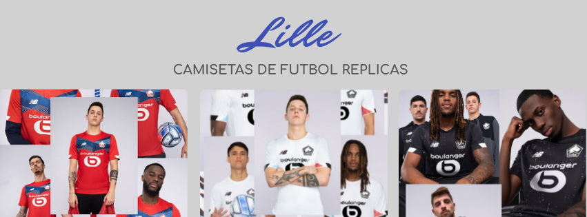 camiseta del Lille 20-21