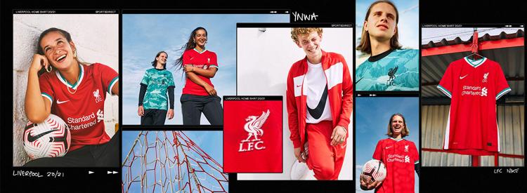camisetas del Liverpool 20-21