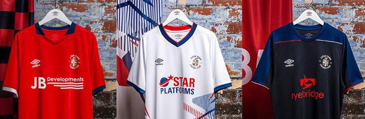 camisetas del Luton Town 20-21