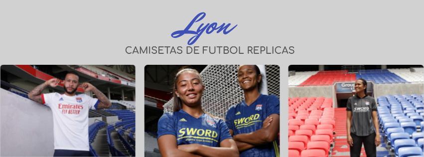camiseta del Lyon 20-21