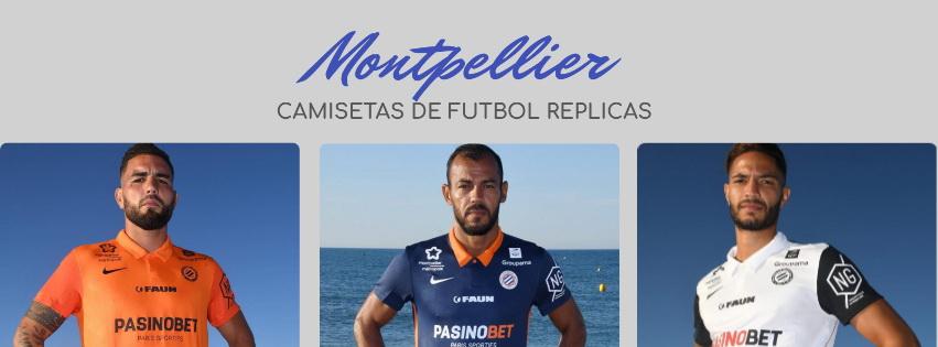 camiseta del Montpellier 20-21