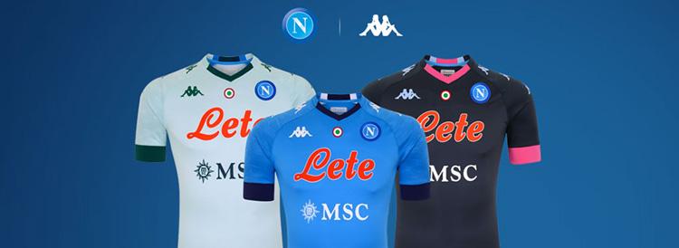 camisetas del Napoli 20-21