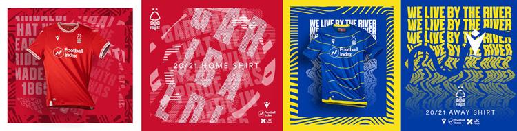camisetas del Nottingham Forest 20-21