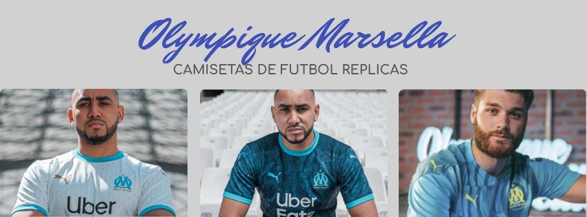 camiseta del Olympique Marsella 20-21