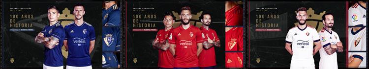 camisetas del Osasuna 20-21