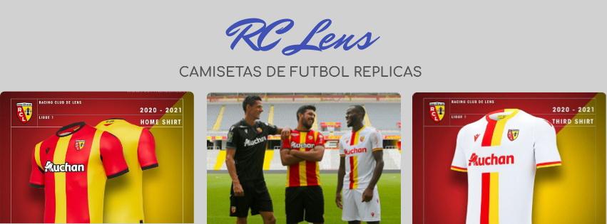 camiseta del RC Lens 20-21