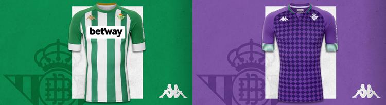 camisetas del Real Betis 20-21