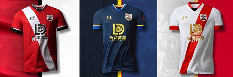 camisetas del Southampton 20-21