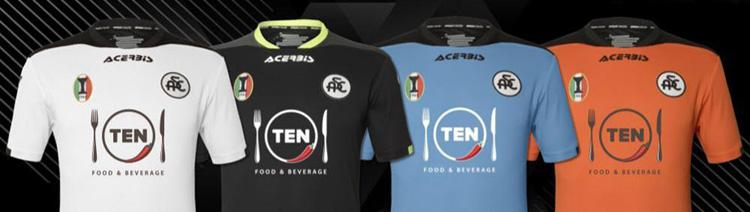 camisetas del Spezia 20-21