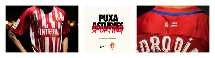 camisetas del Sporting de Gijon 20-21