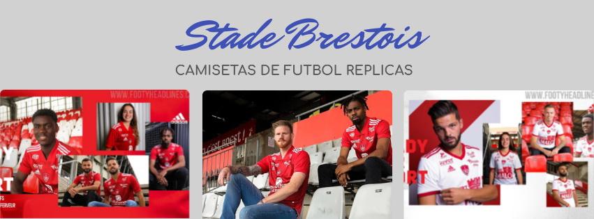 camiseta del Stade Brestois 20-21