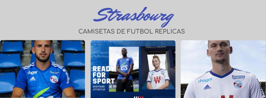 camiseta del Strasbourg 20-21
