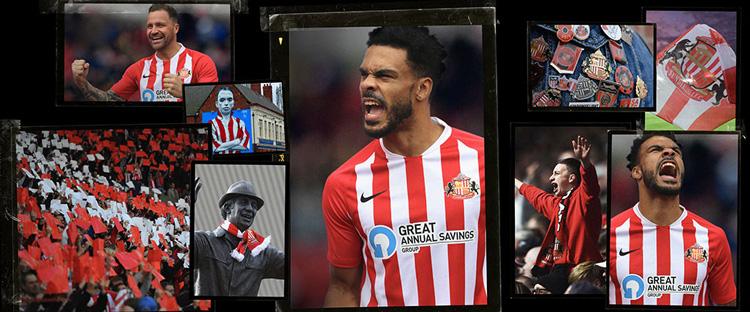 camisetas del Sunderland 20-21