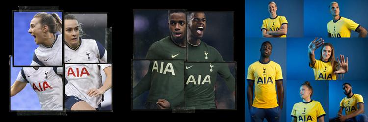 camisetas del Tottenham Hotspur 20-21