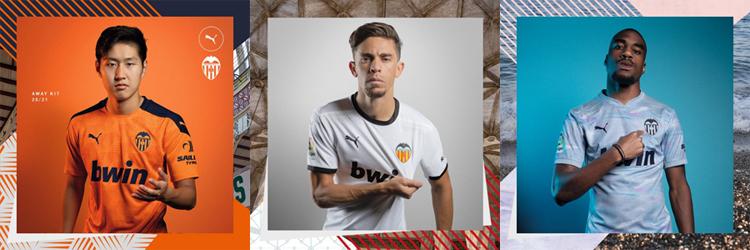 camisetas del Valencia 20-21