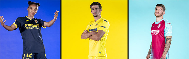 camisetas del Villarreal 20-21